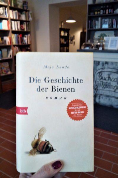 """Buchtipp: """"Die Geschichte der Bienen"""" von Maja Lunde"""